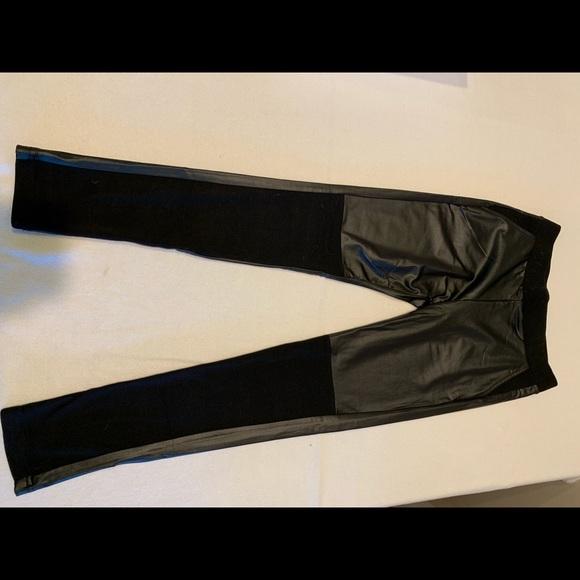 Pants - pleather leggings